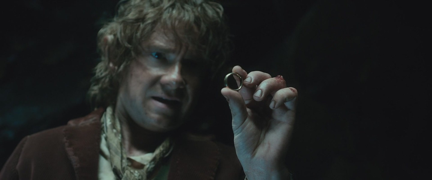 The One Ring from The Hobbit and The Lord of the Rings Trilogy was the cause of a students suspension in an Odessa school last week. - COURTESY
