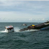 Texas Turns Ship Into Artificial Reef