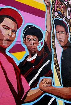 The Alamo City displays its Mexican-American heritage through vivid street art.