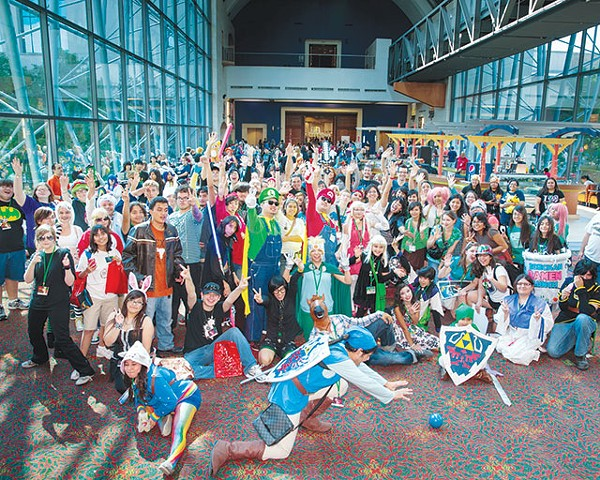 The assembled masses at last year's San Japan: Sinister 6 - COURTESY PHOTO