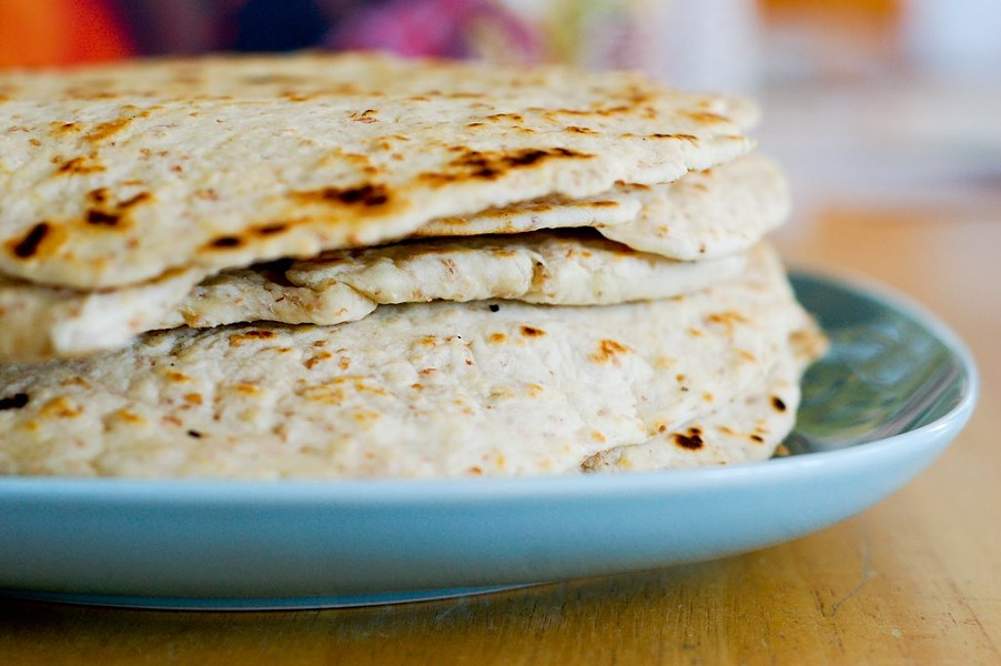 The astronauts may eat tortillas, but they aren't the delicious homemade kind. - VIA TRAVELINGTRIBE.NET