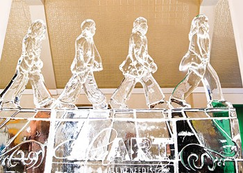 Day in the Life: Ice sculptor Sean Leahy