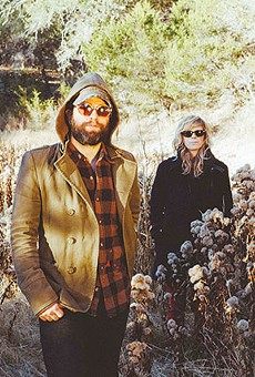 The Black Angels return psych to Texas. Christian Bland is pictured on the far right.