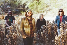 COURTESY PHOTO - The Black Angels return psych to Texas. Christian Bland is pictured on the far right.