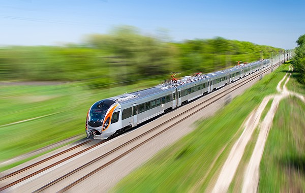 The bond between SA and Monterrey, Mexico, would be solidified with a new high-speed passenger rail line connecting the two hubs. - COURTESY