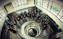 The Chapman University Singers, the top choral ensemble from Chapman University (in Southern California).