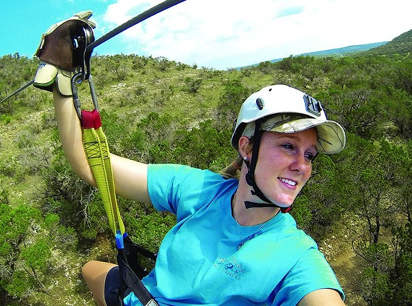 The closest you may get to flying! Zip across the Hill Country. - COURTESY
