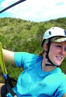 The closest you may get to flying! Zip across the Hill Country.