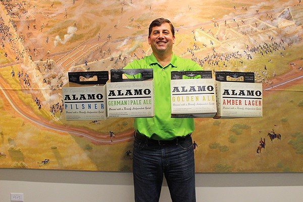 The company offered its product in SA for a decade, but Alamo Beer now has its own brewery on the city's East Side. - ADRIANA RUIZ