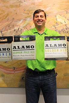 The company offered its product in SA for a decade, but Alamo Beer now has its own brewery on the city's East Side.