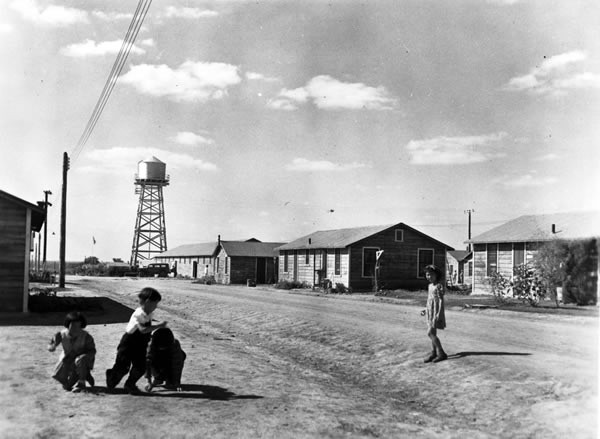 The Crystal City Internment Camp - COURTESY