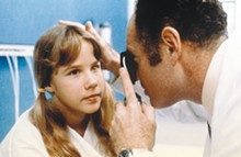 COURTESY PHOTOS - The doctor can't find anything wrong with Regan (Linda Blair) shortly before she tells Father Karras what his mother is doing in hell.