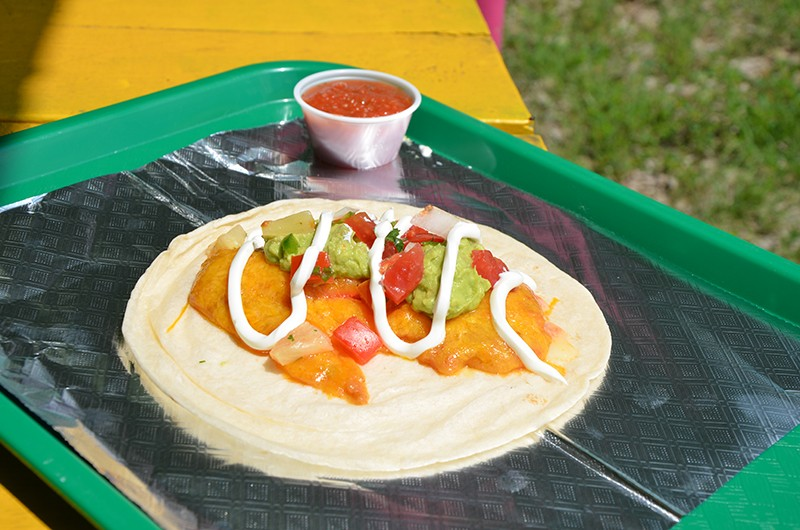 The mythical enchilaco is tasty and unique. - BRYAN RINDFUSS