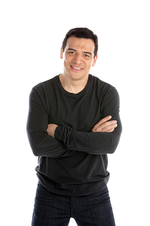 The new and improved Carlos Mencia - COURTESY PHOTO