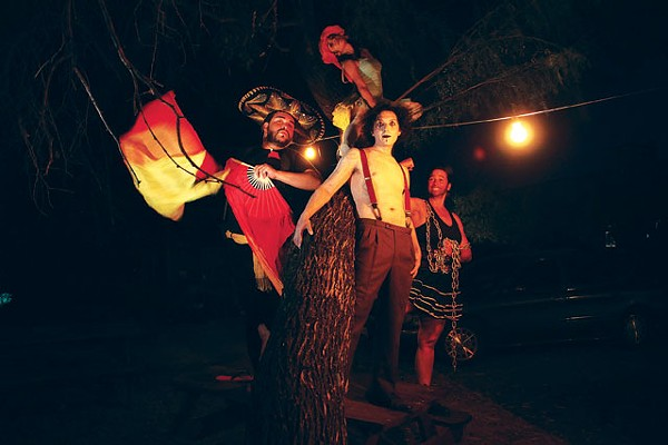 The performers of '¡Carpa!' - COURTESY PHOTO