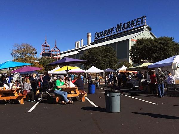 The Quarry Farmers and Ranchers Market on Sunday, November 23, 2014 - JESSICA ELIZARRARAS