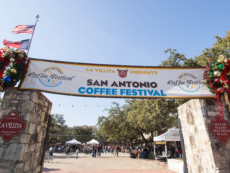 The San Antonio Coffee Festival - COURTESY