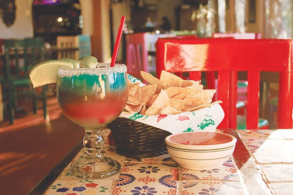 The Spurs-a-Rita marg is half price during Spurs games - ORLANDO CANTU