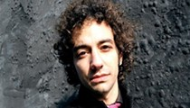The Strokes' Albert Hammond Jr. shows his 'guitar moves'