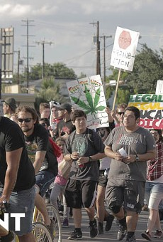 Just days after San Antonio's first marijuana reform march, a bill decriminalizing marijuana was approved in committee.