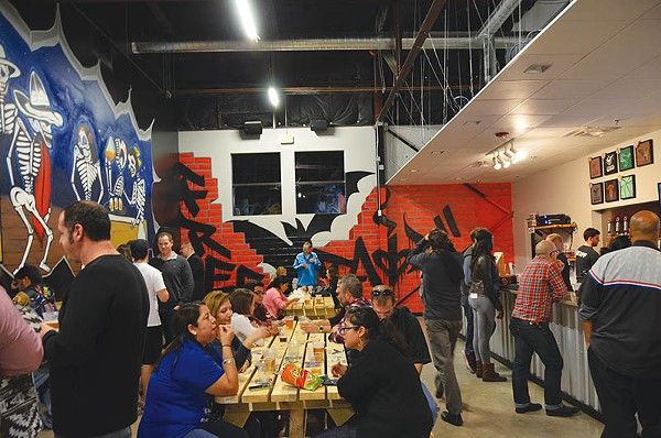 There's plenty of room for all at Freetail Brewery & Tasting Room - KEVIN FEMMEL