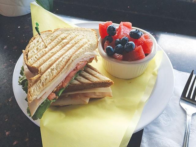 This sandwich gets the job done - JESSICA ELIZARRARAS