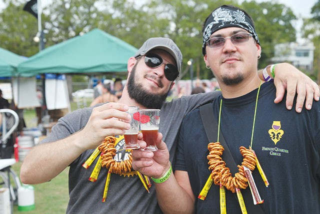 Those samples add up: Keep it classy, Beer Fest-goers - 2013 TEXAS CRAFT BREWERS FESTIVAL