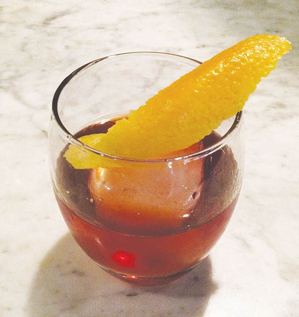 Tim Bryand's take on a rum Old Fashioned - RON BECHTOL