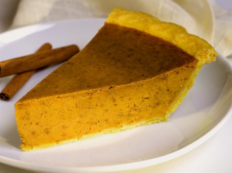 Tootie's Pumpkin Pie - COURTESY