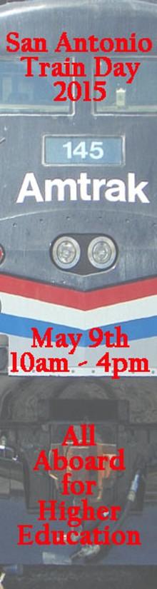 SAN ANTONIO RAILROAD HERITAGE MUSEUM - Train Day Banner
