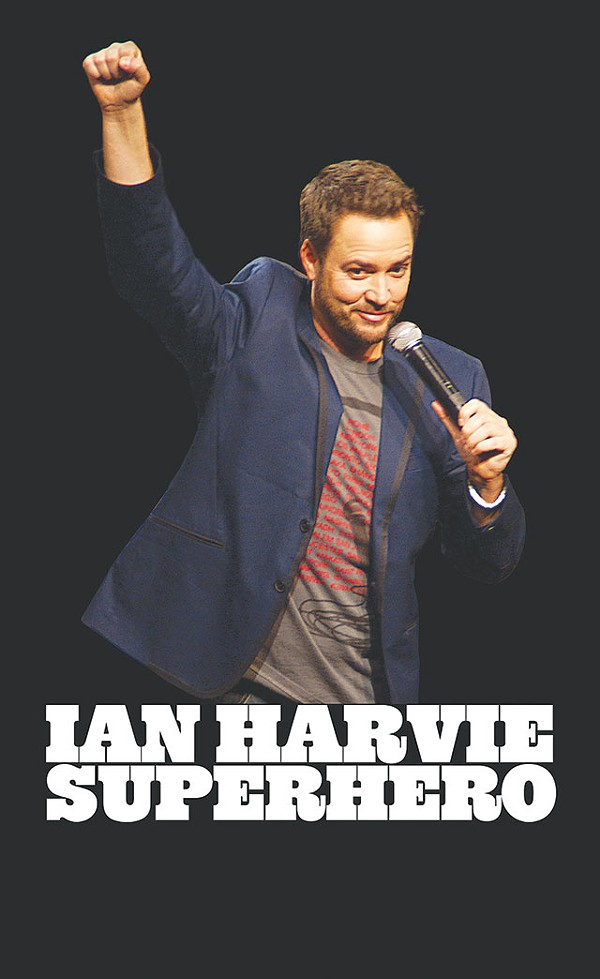 Transgender comedian Ian Harvey, the subject of the doc Superhero (9:15 Monday) - COURTESY PHOTO