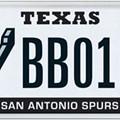 TXDMV Approves San Antonio Spurs License Plate