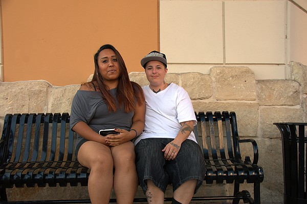Felicia Gutierrez (left) and Lynda Prado - COURTESY