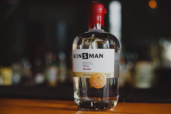 Kinsman + ice cream = good times. - COURTESY
