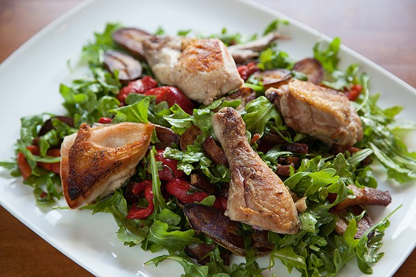 Call it Tre North and get there ASAP for tender, wood-fired chicken. - LIZZY FLOWERS