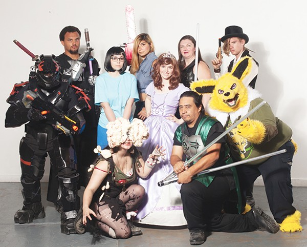 Who says only kids get to dress up in costume? Here are some SA cosplay fans photographed at Blue Star's Brick - FABIAN VILLA AND STEVEN CASANOVA