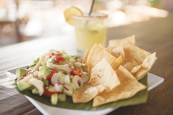 There's no need for fish in La Botánica's ceviche. - DAN PAYTON
