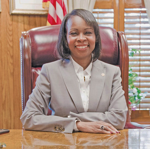 Ivy Taylor's historic victory in the mayoral race was one of the most important events of 2015. - SARA LUNA ELLIS