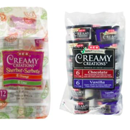 H-E-B Voluntarily Recalls Creamy Creations Variety Packs