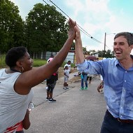 Beto O'Rourke's Moment of Zen is Skateboarding at a Whataburger