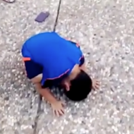 This Kid Crying When He Dropped Off His Brother at Texas A&M Is Probably the Cutest Thing You'll See All Day