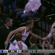 Terminix Just Offered Manu Ginobili a Job Because of His Bat-Snatching Skills