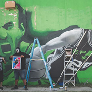 San Antonio Artists Putting Finishing Touches on New Manu Ginobili Mural