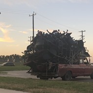 Puro San Antonio Movers Strike Again: Check Out This Ridiculously Stacked Pickup Truck