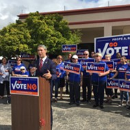 The Go Vote No Campaign Can Hold a Press Conference with Democrats, Too