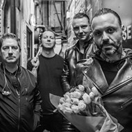 Houston-formed Rock 'N' Roll Band Blue October Return to Texas