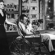 San Antonio Botanical Garden Screening 1954 Hitchcock Classic <i>Rear Window</i>