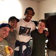 <i>The Sandlot</i> Cast Hung Out with the Spurs During Alamo City Comic Con Weekend