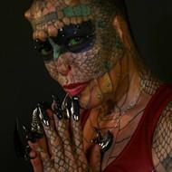 Meet the Texas-bred Dragon Lady: Tiamat Medusa Takes Body Modification to the Extreme