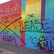 'Pride Wall' in Houston's LGBTQ Neighborhood Defaced by Vandals